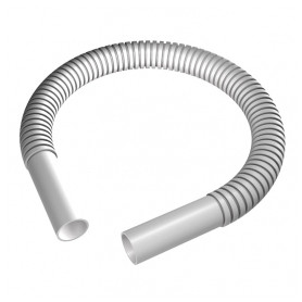 Evopipes flexable cable protection tube connection D16mm, for EVOEL pipes, gray, 40pcs/package