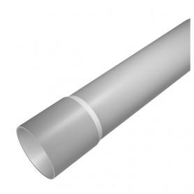 Evopipes smooth cable protection tube D16mm 320N 3m/111m, light gray EVOEL SL (price for 1m)