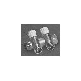 Collector 3/4 xM(24x19) CP432 2-way with valve