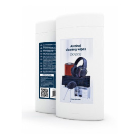 Gembird Alcohol cleaning wipes 50pcs