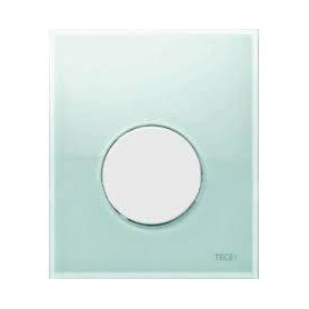 TЕСЕloop build in frame glass urinal button, green, white button 9242651