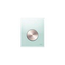 TЕСЕloop build in frame glass urinal button, green, stainless steel button 9242662
