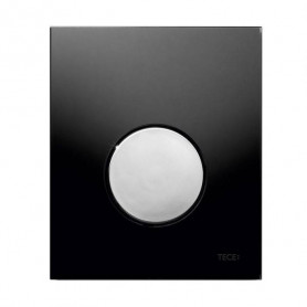 TЕСЕloop build in frame glass urinal button, black, chrome button 9242656