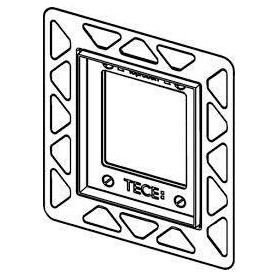 TЕСЕ build in frame urinal button mounting frame, black 9242647