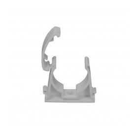 Melting PPR pipe mount D25, cage-type, gray