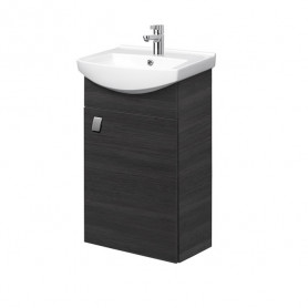 Riva SA 44-11 Rigoletto Anthracite Wall Hanging Vanity Unit with 1 Door. For Washbasin RIVA45