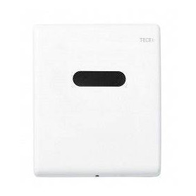ТЕСЕplanus build in frame urinal button, stainless steel with infrared sensor 6V, white
