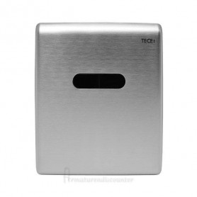 ТЕСЕplanus build in frame urinal button, stainless steel with infrared sensor 230/12V, matte steel