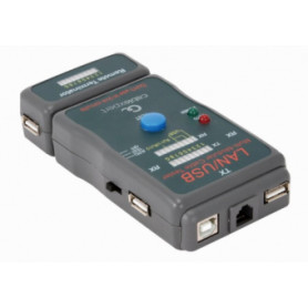 Gembird Cable tester for UTP, STP, USB Cables