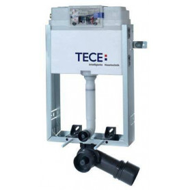 TECEbox wall mounted WC flushing container with hanging WC 9370000, for masonry wall