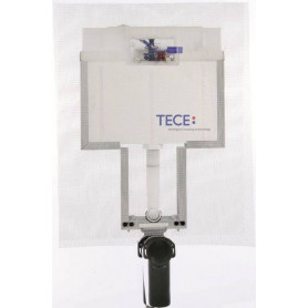 TECEbox 8cm wall mounted WC flushing container with hanging WC 9370008, for masonry wall