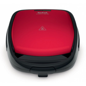 Tefal tosteris Snack Time 2in1,700W, sarkans / melns - SW341031