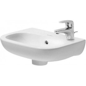 Duravit D-Code washbasin 36x27 cm, without water mixer hole 07053600002