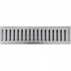 ACO G100 rainwater channel galvanized steel grille, 1m, A15 06303