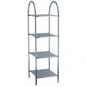 Duschy 544-90 pull out shelf, 4 levels, chrome