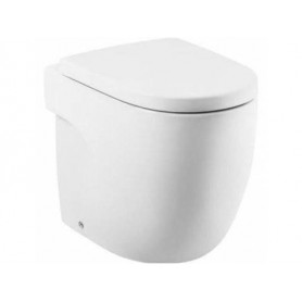 Roca Meridian WC toilet bowl, floor outlet, white 7347247000