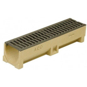 ACO Euroline rainwater channel with cast iron grille 0.5m 38707