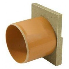 ACO Euroline rainwater channel end plug with outlet 110mm 38505