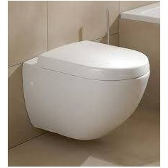 Villeroy&Boch Subway WC tualetes pods piekarams ar Soft Close vāku 66001001+9955S101