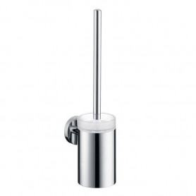 Hansgrohe HG40522000 Logis toilet brush with holder