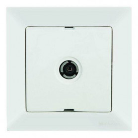 Mutlusan Candela TV socket, white