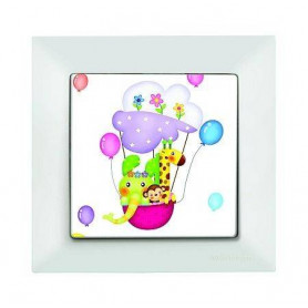 Candela Kids Ballon Beyaz electricity switch, 1pole, 2127 516 0101