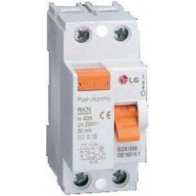 LS leakage protection switch RKN 2P 25A 30mA