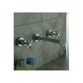 Resp Laser 260.125 basin mixer, wall mounted, concealed