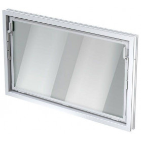 ACO auxiliary room window, double pane window 14mm 82657