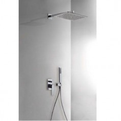 Tres Slim Exclusive 20218006NE shower system, concealed