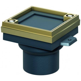 ACO Finor revision hatch 5288.23.00 with copper frame D125mm