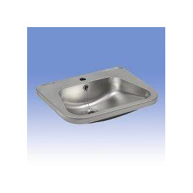 Sanela SLUN 26 stainless steel washbasin for public premises