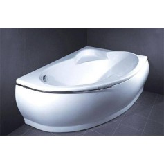 Vispool cast stone bathtub Marea 1736x1180, left