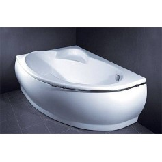 Vispool cast stone bathtub Marea 1736x1180, right