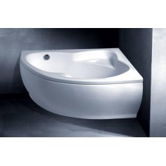 Vispool cast stone bathtub Lago 1530x1060, left