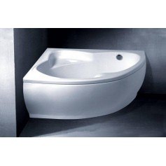Vispool cast stone bathtub Lago 1530x1060, right