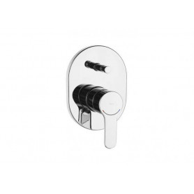 Roca L20 75A0609C00 shower mixer, concealed, with diverter