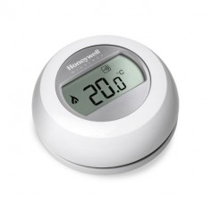 Honeywell wireless room thermostat T87RF, with a relay