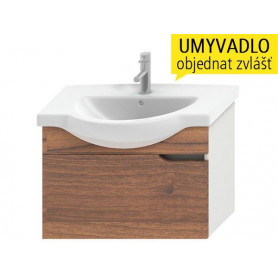 Jika Mio bathroom vanity unit 67 cm, with 1 drawer 4.3412.1.171.506.1