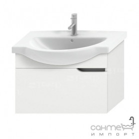 Jika Mio bathroom vanity unit 75 cm, with 1 drawer 4.3413.1.171.500.1