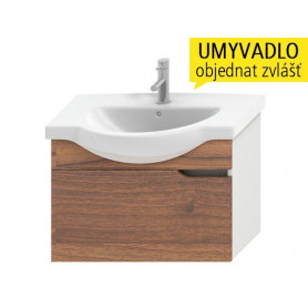 Jika Mio bathroom vanity unit 75 cm, with 1 drawer 4.3413.1.171.506.1