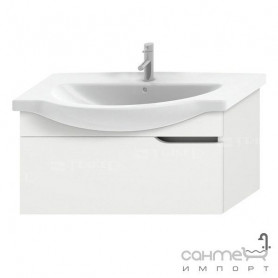 Jika Mio bathroom vanity unit 85 cm, with 1 drawer 4.3414.1.171.500.1