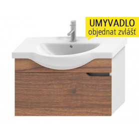 Jika Mio bathroom vanity unit 85 cm, with 1 drawer 4.3414.1.171.506.1