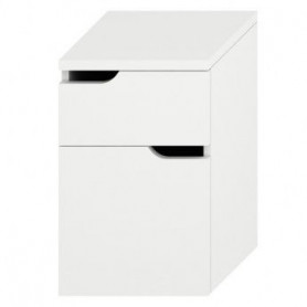 Jika Mio floor mounted bathroom cabinet with 2 drawers 4.3418.1.171.500.1