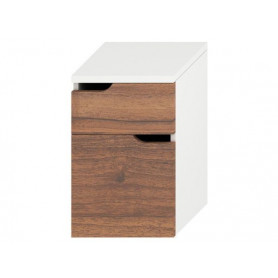 Jika Mio floor mounted bathroom cabinet with 2 drawers 4.3418.1.171.506.1
