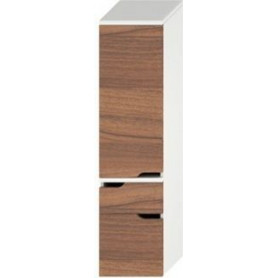 Jika Mio tall bathroom cabinet with 2 drawers, left 4.3419.3.171.506.1