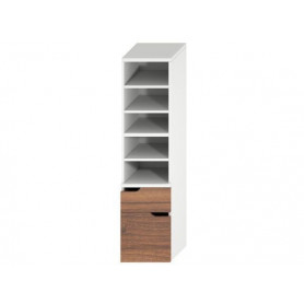 Jika Mio tall bathroom cabinet with 2 drawers 4.3419.1.171.506.1