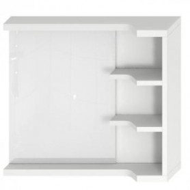 Jika Mio bathroom mirror with shelves, right/ left 4.3421.1.171.500.1
