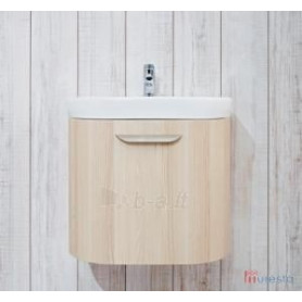Jika Olymp Deep bathroom vanity unit 60 cm, 1 drawer, round 4.5413.3.434.340.1