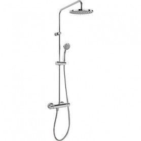 Tres Flat-tres 20438701, thermostat shower water mixer, with shower